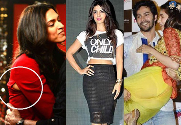 Shocking Bollywood Wardrobe Malfunctions