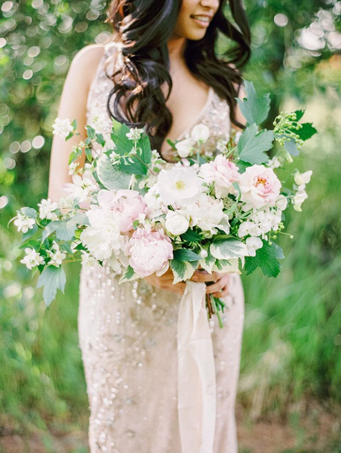 Soft and Ethereal Bollywood Wedding Inspiration | Blush ...