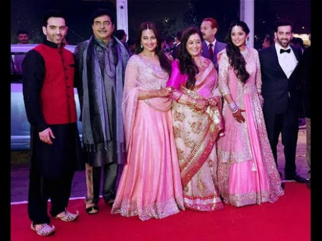 Sonakshi Sinha's brother WEDDING RECEPTION | New Bollywood ...