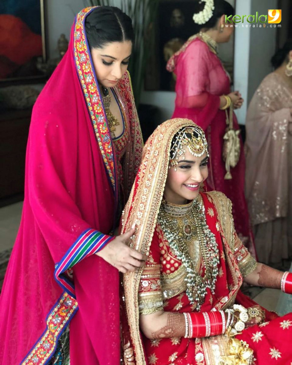 Sonam kapoor marriage photos 10 - Kerala9.com