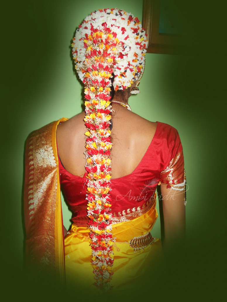 south indian bridal hairstyles |ASheClub.blogspot