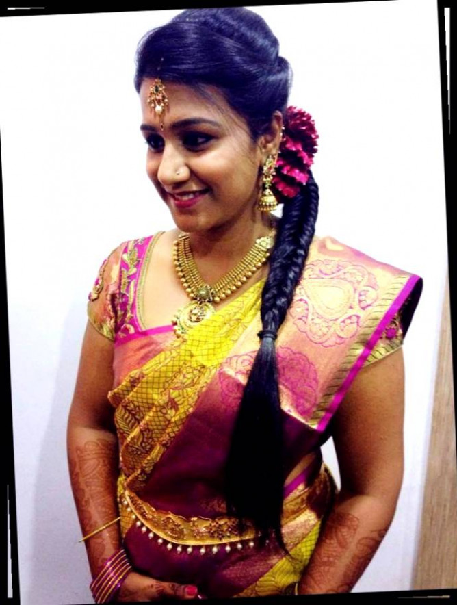 South Indian Bridal Hairstyles For Medium Hair | www ...