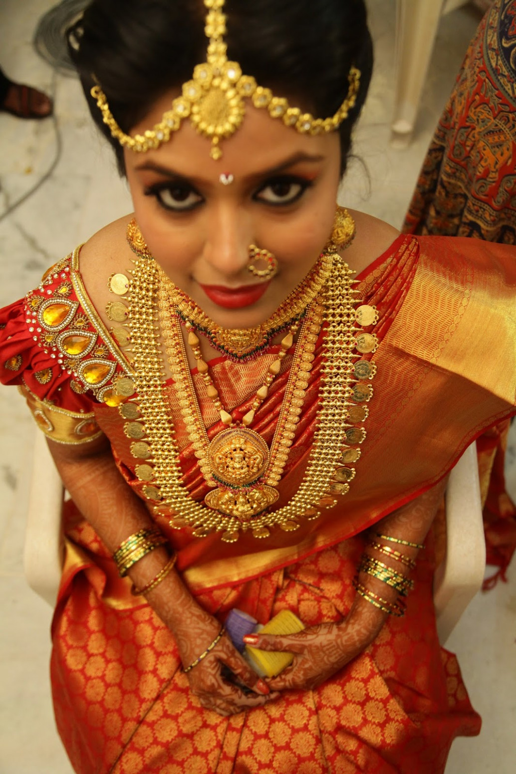 South Indian Bridal Hairstyles For Round Face | www ...