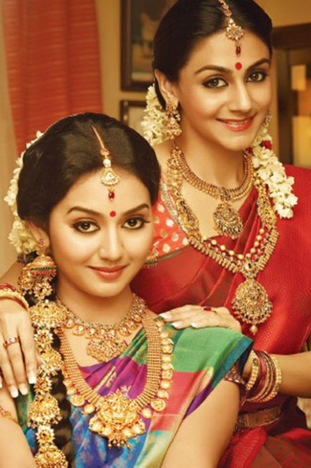 South indian bridal makeup step by step | Pictures and video