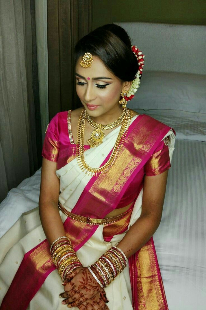 South Indian Wedding Hairstyles For Long Hair Step By Step ...