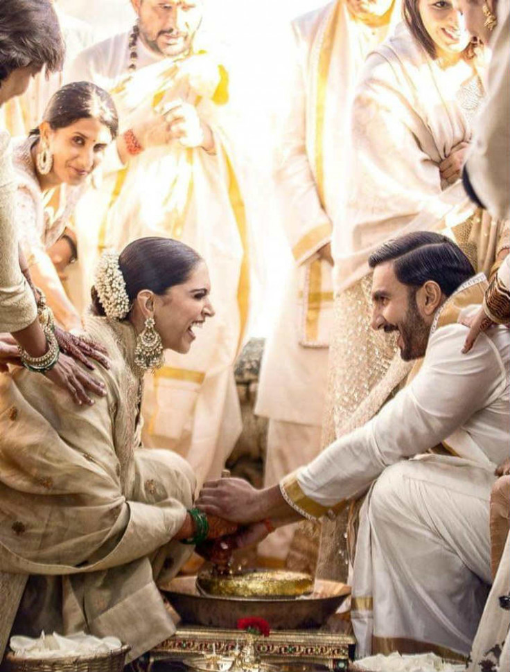 South meets North in Deepika and Ranveer's Konkani wedding ...