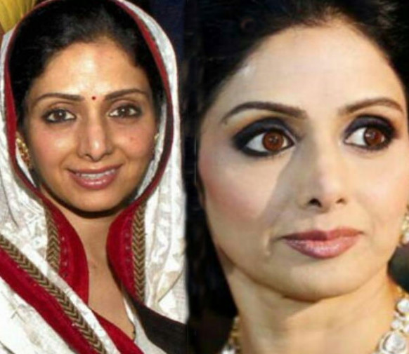 Sridevi-Bollywood-Actresses-Without-Makeup-Pictures ...