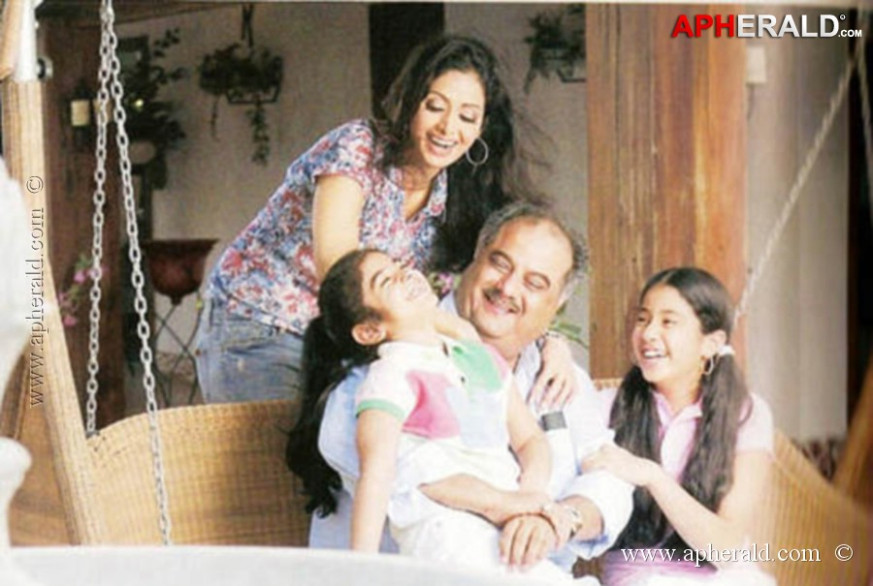 Sridevi Family Photos