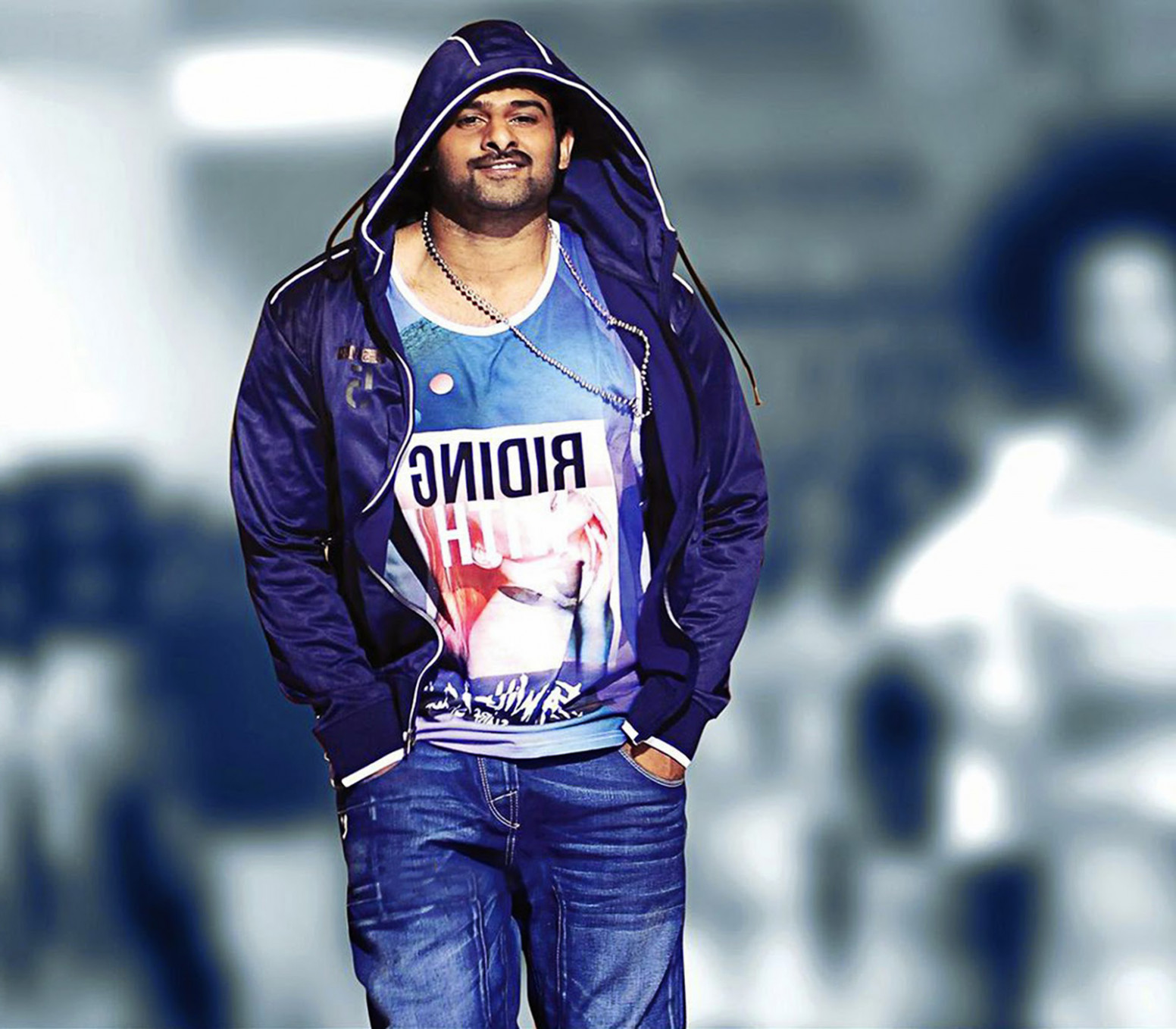 Stylist tollywood actor prabhas in jeans and jacket high ...