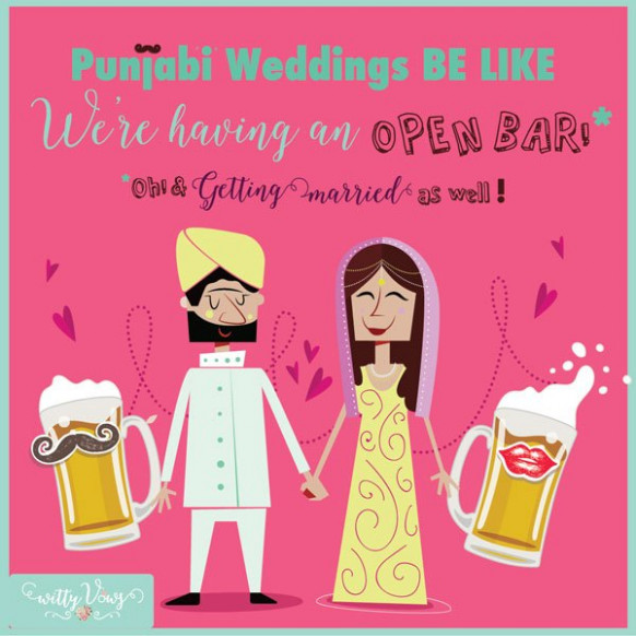 Super FUNNY Indian Wedding Quotes! - Witty Vows
