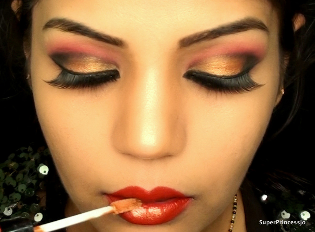 SuperPrincessjo : INDIAN BRIDAL WEDDING MAKEUP RED AND ...