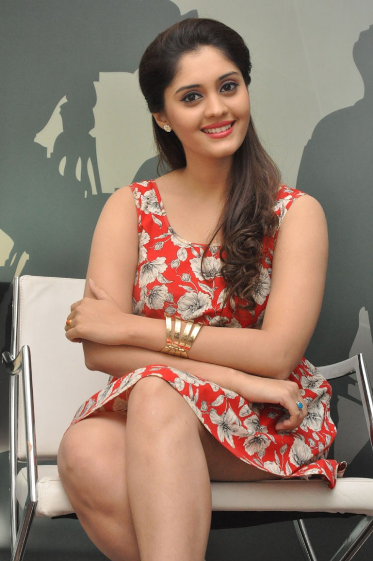 Surabhi Latest Thigh Show Photos In Red Dress - Tollywood ...