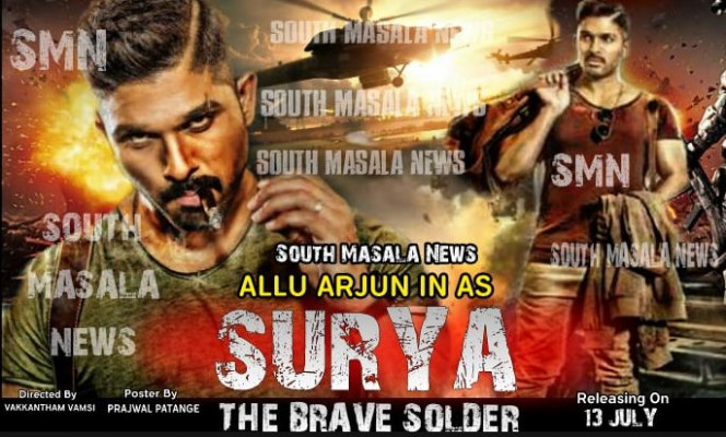 Surya the Brave Soldier (naa Peru Surya) Hindi Dubbed ..