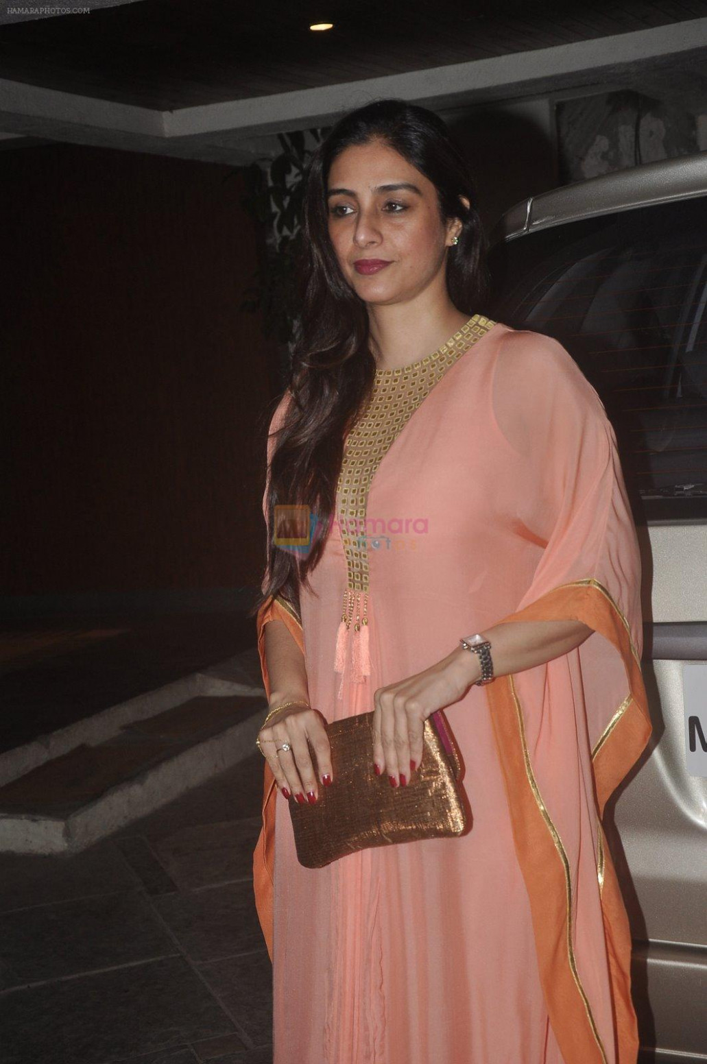 Tabu at Sonali Bendre's marriage anniversary in Mumbai on ...