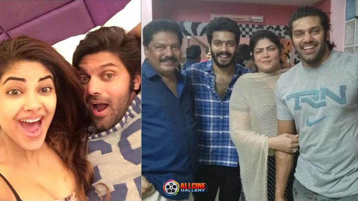 Tamil Actor Arya Family Photos with Father, Mother ...