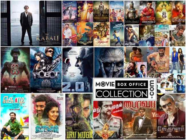 Tamil Box Office Collection Chennai-Worldwide 2017, Top 10 ...