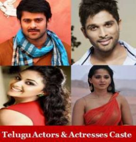 Telugu Actors Actresses Caste List | Tollywood Heroes ...