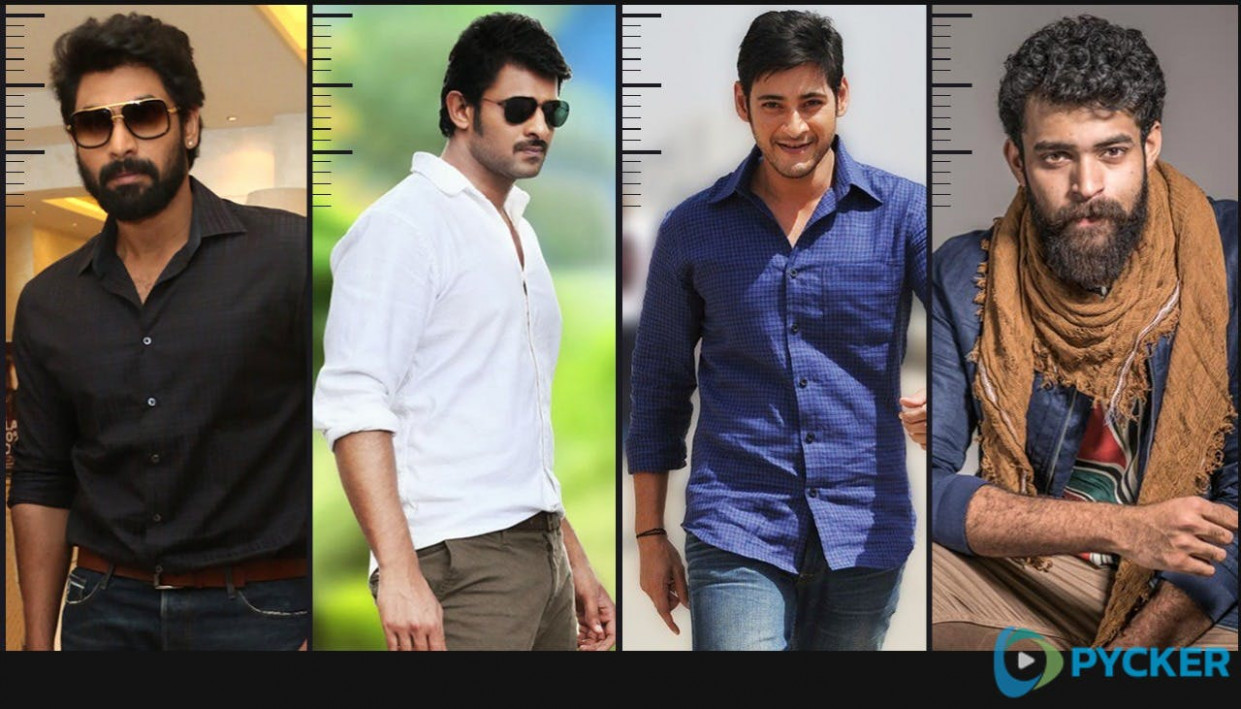 Telugu Actors Height | 10 Tallest Heroes of Tollywood