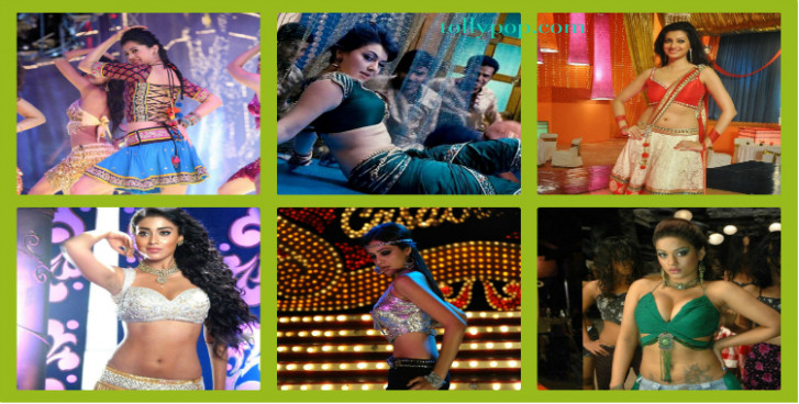 Telugu Actress item songs | Tollywood Heroines Item Numbers