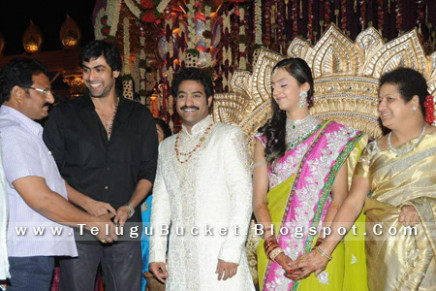 TELUGU BUCKET: Tollywood Celebrities at Jr NTR Wedding ...