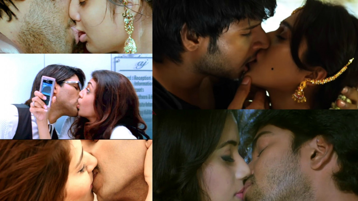 Telugu Film Kisses ALL|Tollywood Actresses become Bold ...