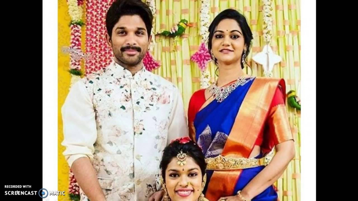 Telugu heroes with their wifes - YouTube