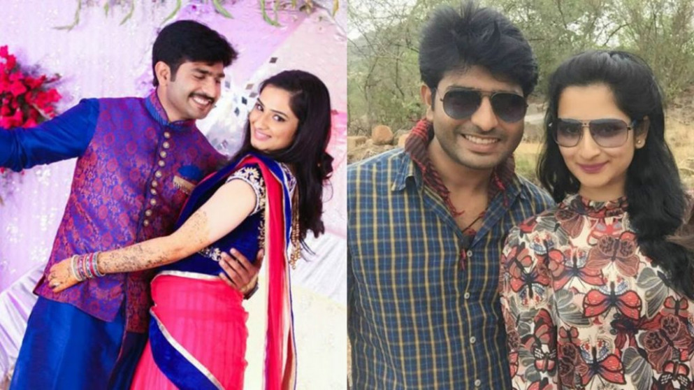 Telugu Serial Actors Real Life Partners pics and images ..
