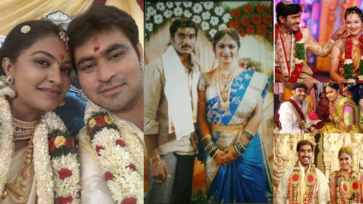 Telugu TV Serial Actors Marriage Photos - YouTube