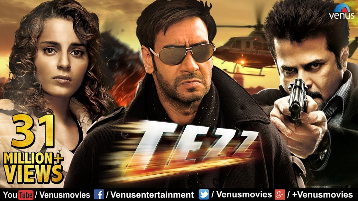 Tezz (HD) | Full Hindi Movie | Ajay Devgan Full Movies ...