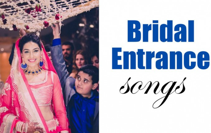 The Best Indian Bridal Entry Songs that create an Impact ...