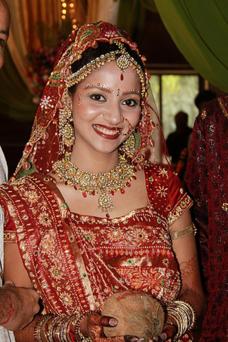 The Cultural Heritage of India: Beautiful Brides of ...