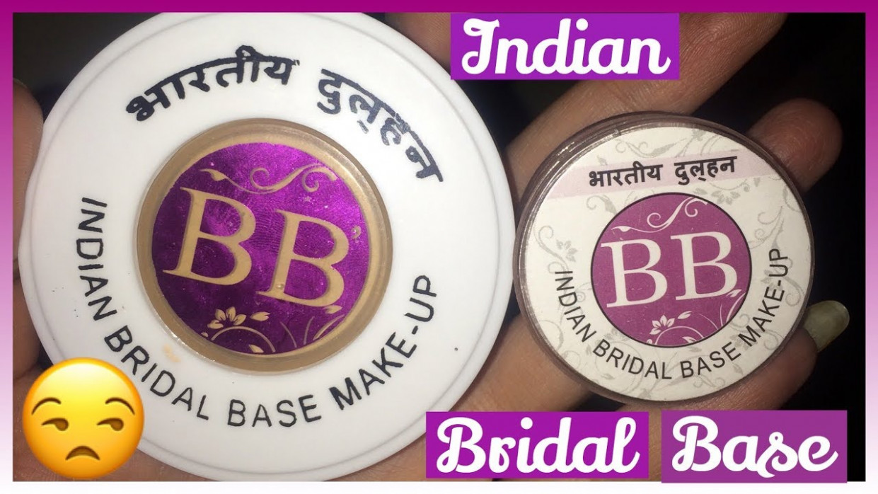 The truth about Indian Bridal Base || bb base review ...