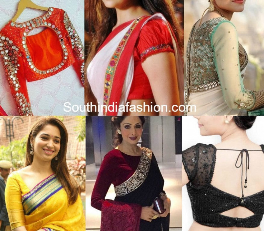 These Blouse Designs Will Give Your Saree A Stylish Twist ...