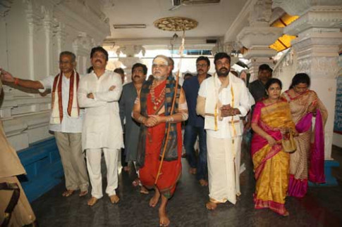 Tolly Wood Celebs at Film Nagar Daiva Sannidhanam New ...