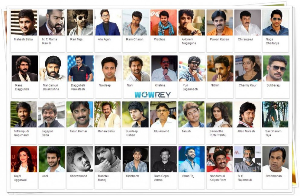Tollywood Actors Height Details - Wowrey Exclusive