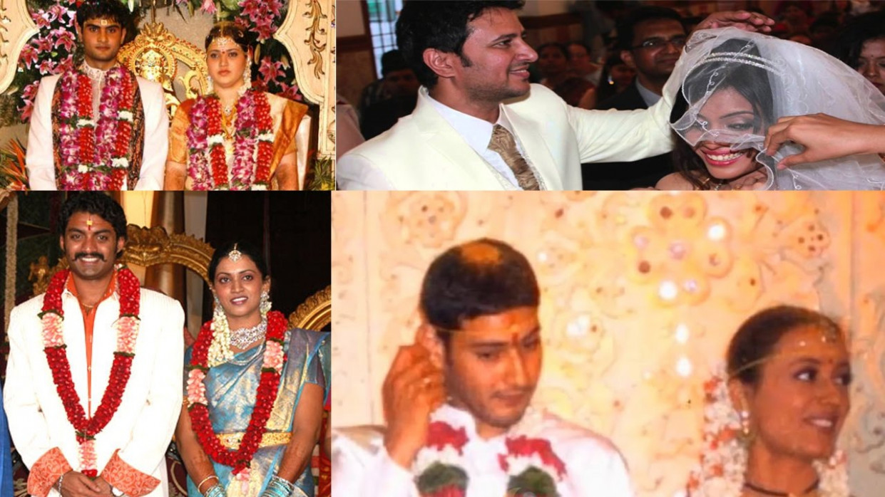Tollywood Actors Marriage Photos - YouTube