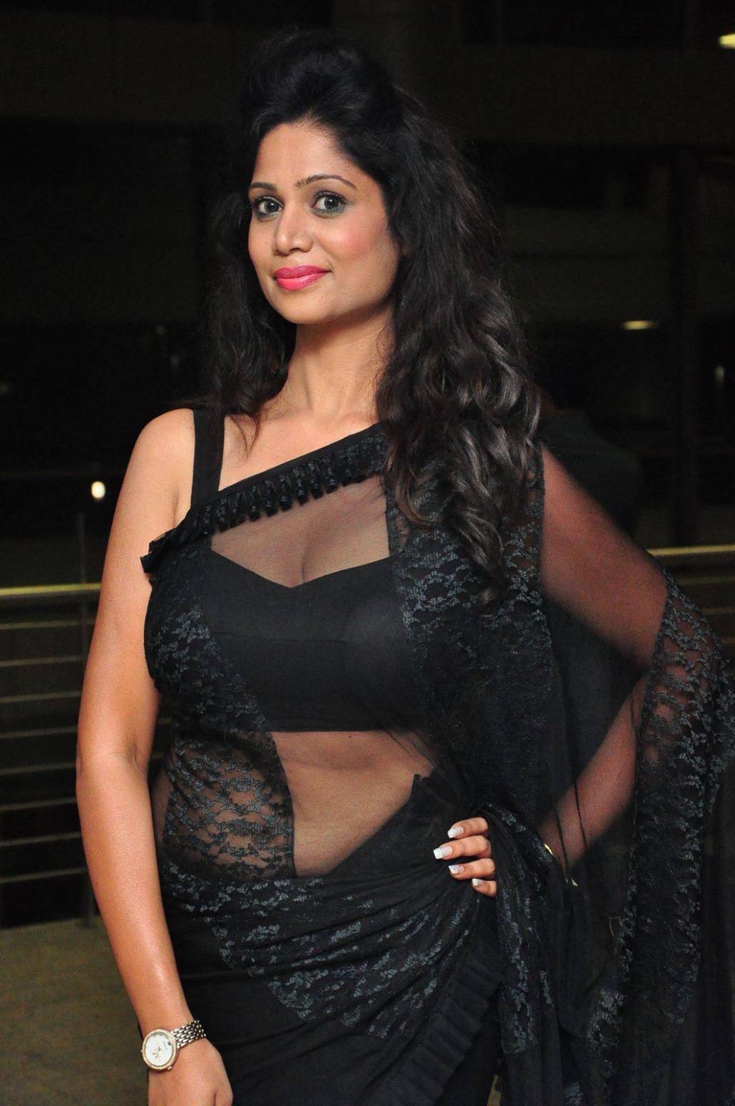 Tollywood Actress Hot Transparent Saree Photos