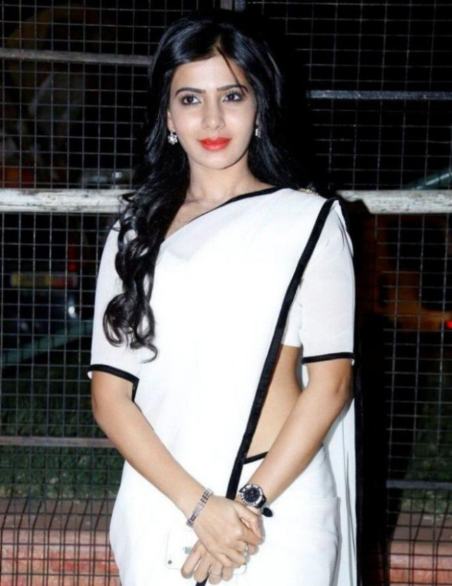 Tollywood Actress in White Saree