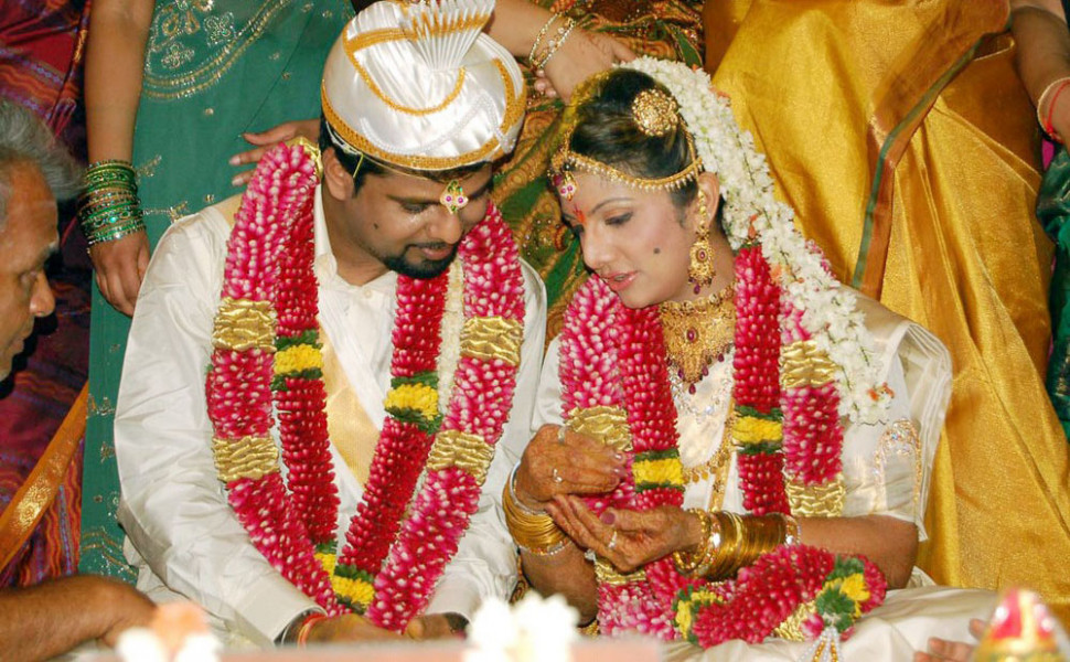 Tollywood Actress Rambha Marriage Photos - Tollywood Stars
