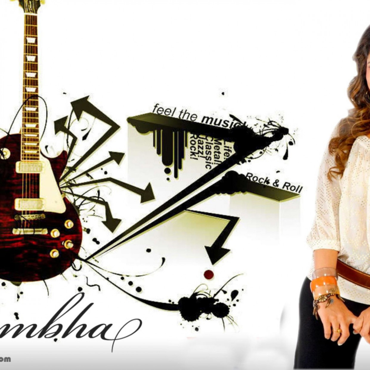 Tollywood Actress Rambha Wallpaper | HDwallpaperUP