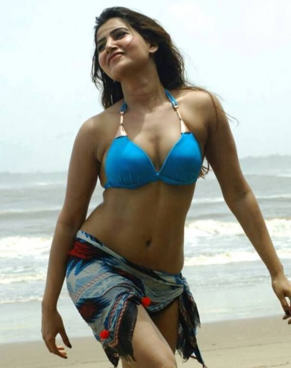 Tollywood actress Samantha hot bikini pics here. Samantha ...