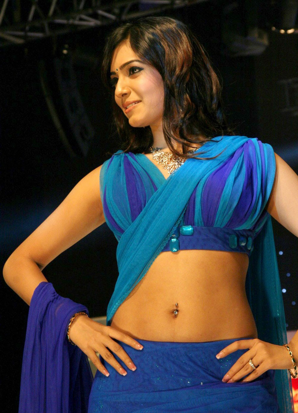 Tollywood Actress Samantha Hot Navel Photos - Hot Indian ...