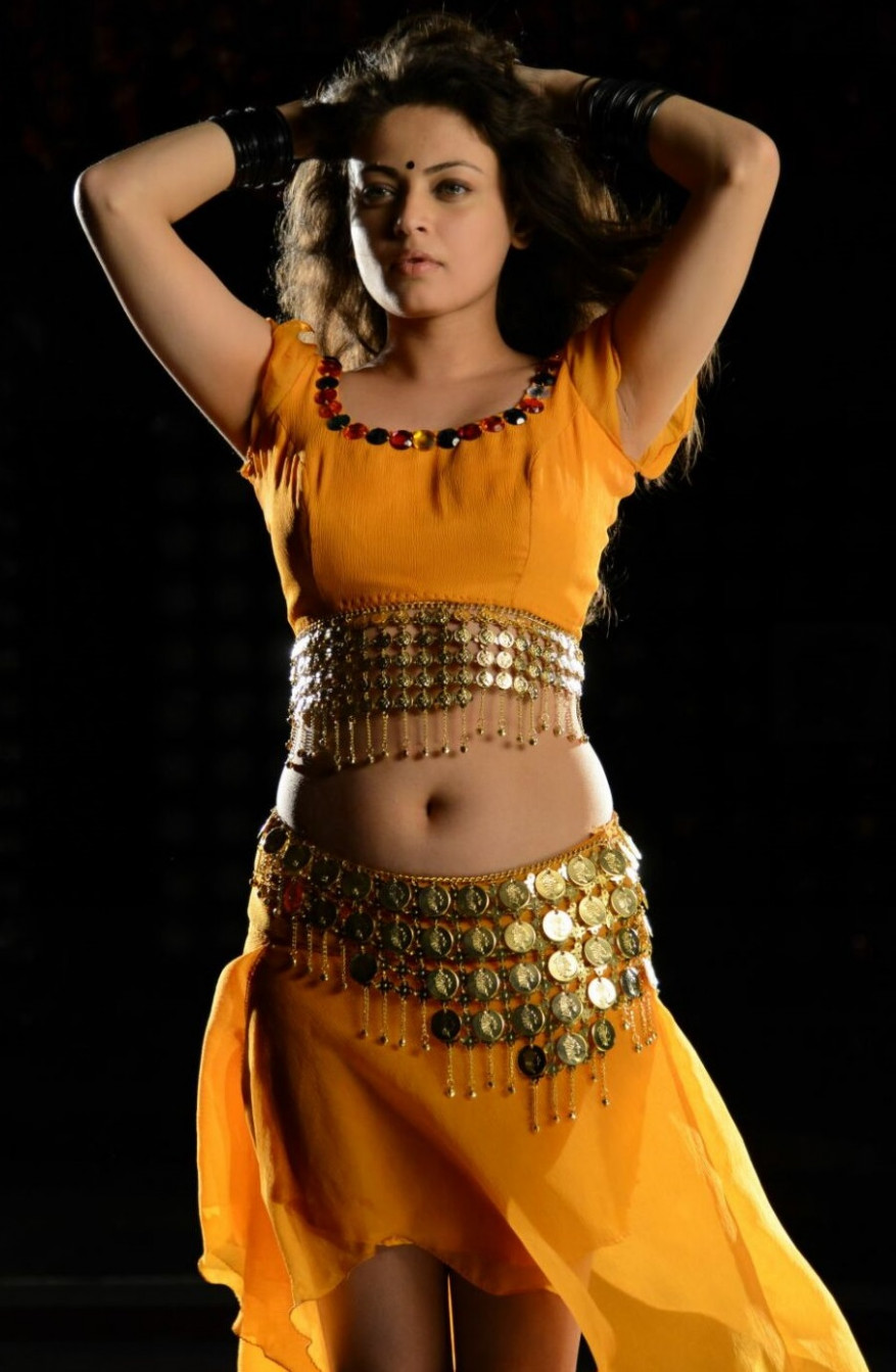 Tollywood Actress Sneha Ullal Spicy Navel Show Photos ...
