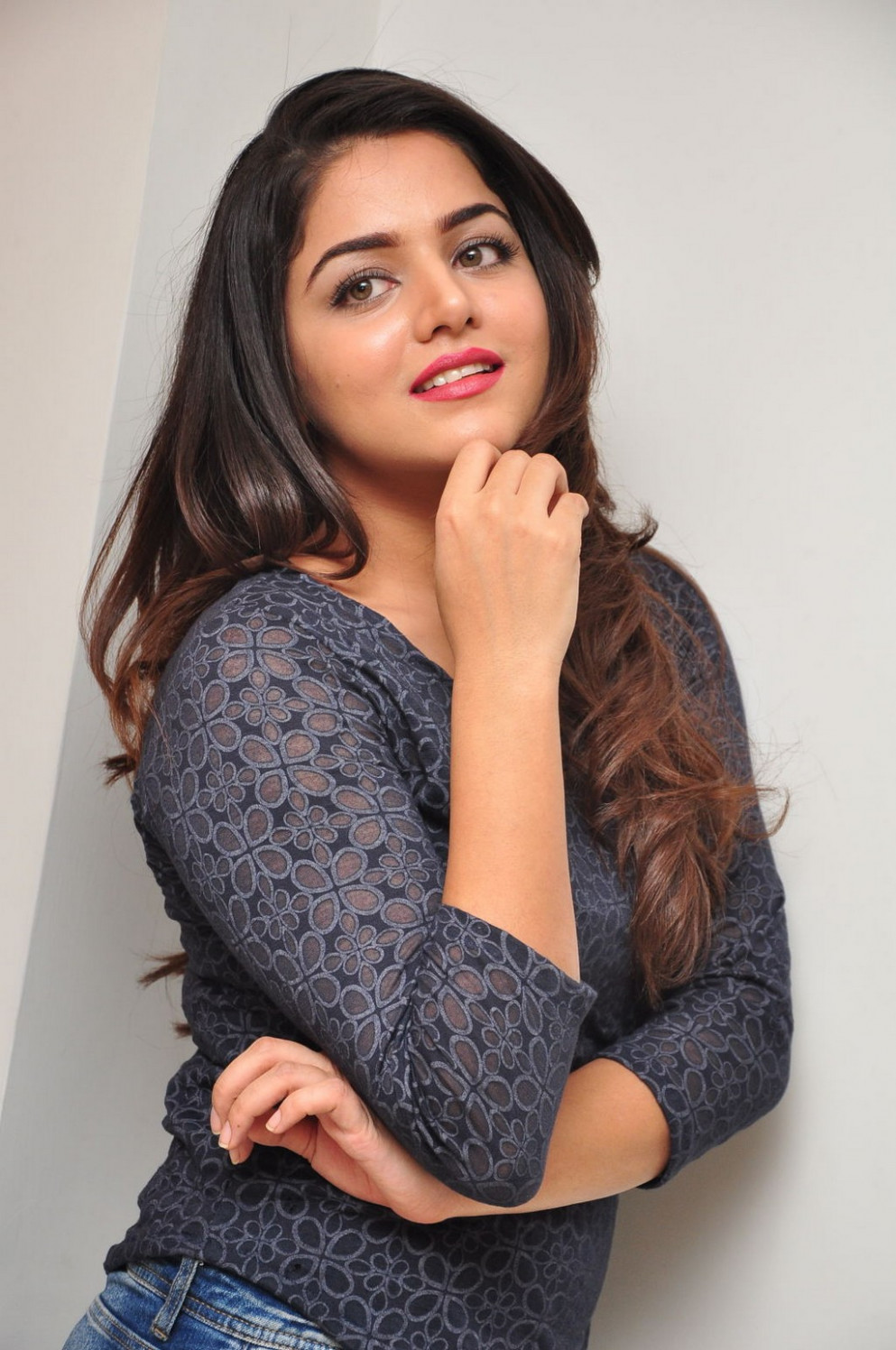 Tollywood Actress Wamiqa Gabbi Hot Images In Blue Jeans ...