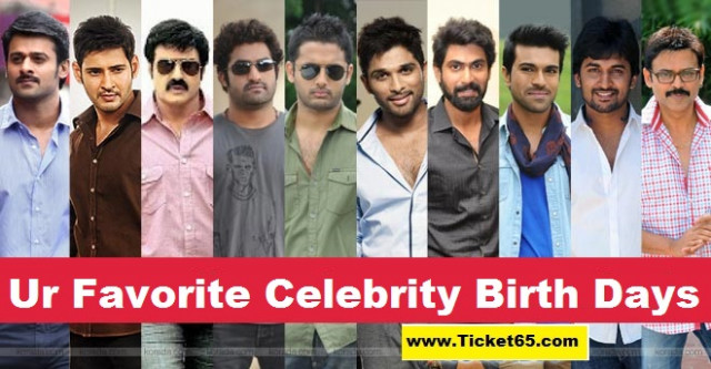 Tollywood Celebrities Birthdays List, List of Tollywood ...