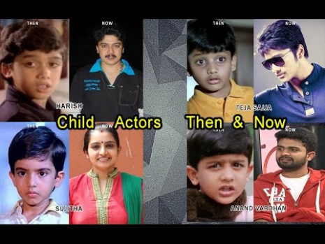 Tollywood Child actors then