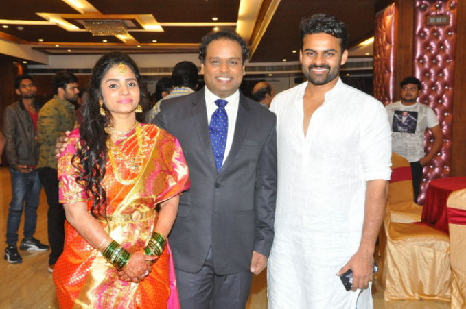 Tollywood Comedian Harish Wedding Photos