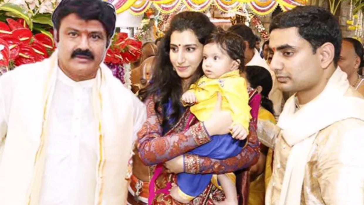 Tollywood Hero BalaKrishna Family Rare and Unseen pictures ...