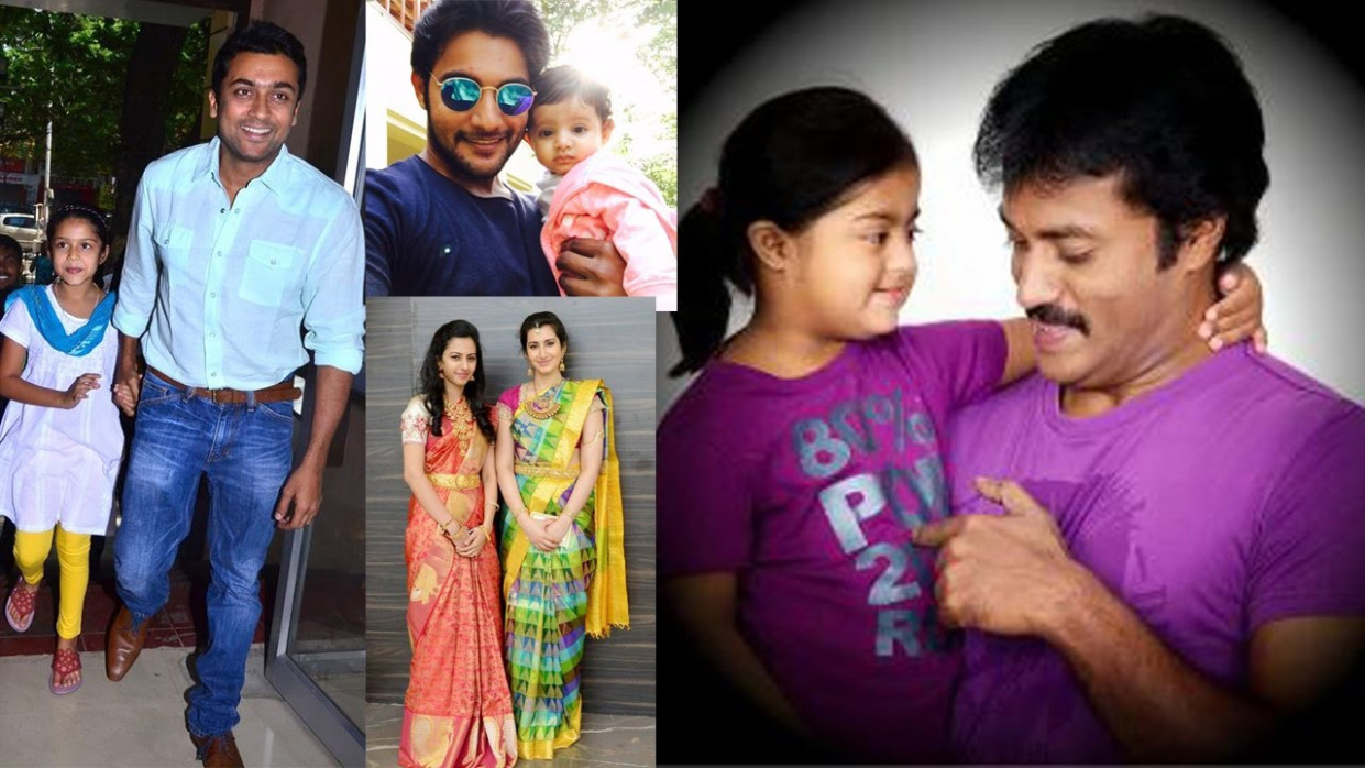 Tollywood Heroes and Their Daughters - YouTube