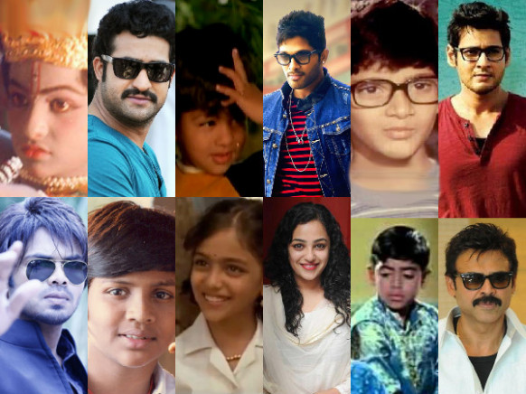 Tollywood Heroes Child Artists | Mahesh Babu Child Artist ...